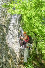 Naturerlebnis Klettersteig