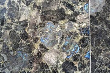 Black quartz tiles texture background
