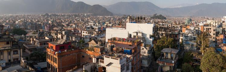 Panorama of Kathmandu, Nepal