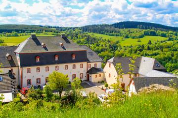 Schlosshotel Burghaus Kronenburg in Kronenburg, Eifel, Deutschland