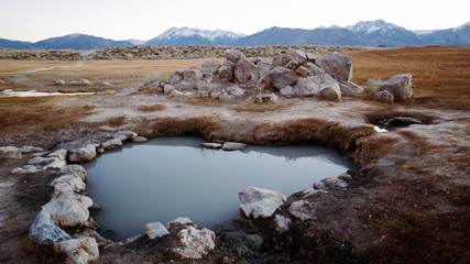 heart-shaped hot spring