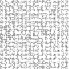 pattern with black circles
