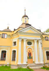 The Church of the Holy Apostles Peter and Paul in Znamenka.