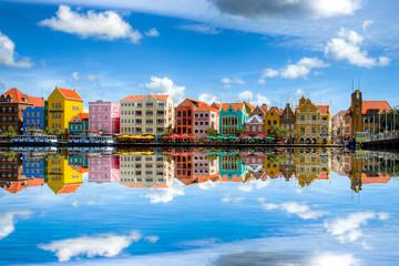 Willemstad die Hauptstadt von Curaçao Wall mural