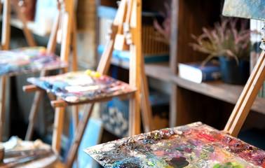 Studio of painting