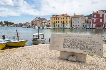 Stari Grad town on Hvar island, Croatia