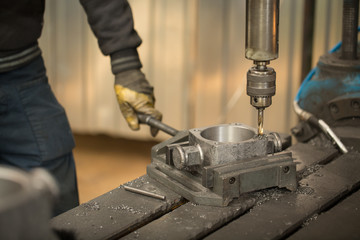 Metalworking manufacturing process