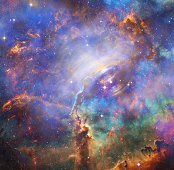 Beautiful galaxy. Elements of this Image Furnished by NASA.