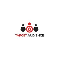Target Audience logo template designs