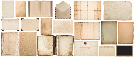 Paper texture book envelope cardboard photo frame corner Fotomurales