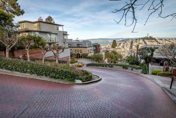 Lombard Street - San Francisco, California, USA