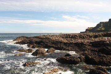 Irlande du nord, vestiges du volcanisme au giant's Coseway
