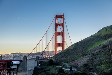 Fotomurales - Golden Gate Bridge - San Francisco, California, USA