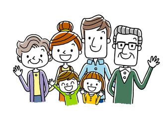 家族:3世代