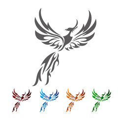 phoenix tribals tattoo