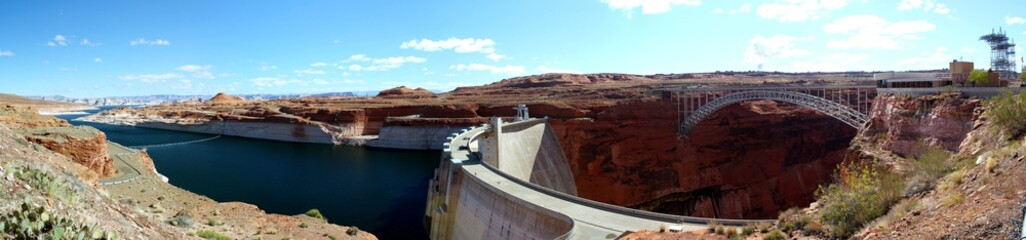 Glen Canyon Damm / Panorama Aussicht