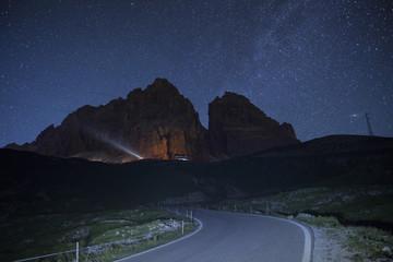 Tre Cime di Lavaredo,Auronzo,Cadore,Dobbiaco,Dolomites,Alps,Veneto,Italy