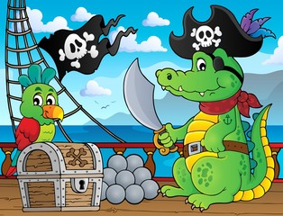Pirate crocodile theme 2