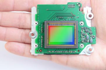 The image sensor of digital camera