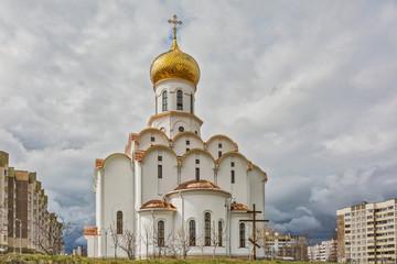 The Church of St. Michael the Archangel in Minsk (Belarus)