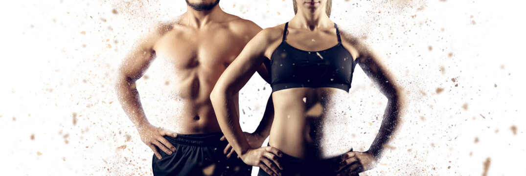 Creating the perfect male female upper body
