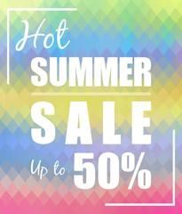 Hot Summer sale up to 50 % design