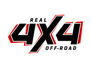 4x4 off-road emblem suv logo