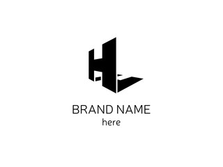 Letter H for company logo