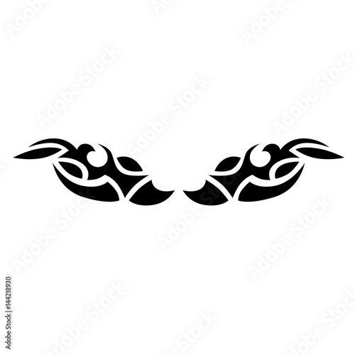 Spine Tattoos For Females Lower Back Tattoo Tribal Vector Design