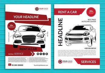 Automotive Services Flyer Layout 4