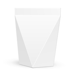 White Product Package Box Illustration Vector EPS10
