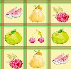 Different fruit texture