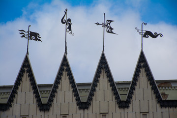 four vane in the wind