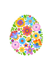 Naive style flowers