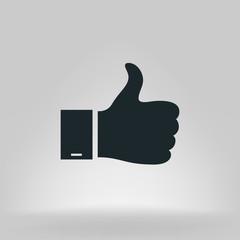 Like and Dislike button