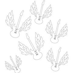 guitar sticker