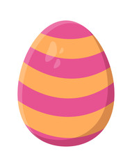 easter egg vector symbol icon design.