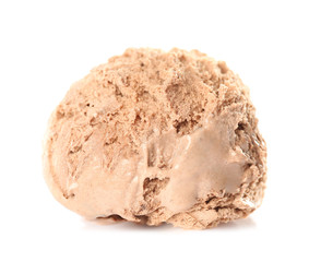 Ice-cream ball, isolated on white