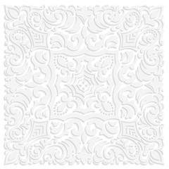 Zentangle styled geometric ornament pattern element. Orient traditional ornament. Boho styled. Abstract geometric seamless pattern elegant element for cards and invitations.