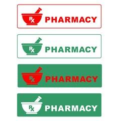 Pharmacy. Icon. Symbol. vector. medical. Sign. Health. logo. hospital