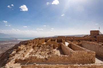 Massada, UNESCO World Heritage Site (Israel)
