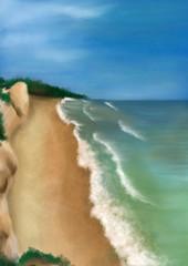 Seashore - Digital Painting
