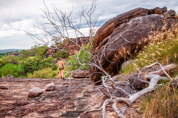 Bushwalking in Kakadu National Park, Northern Territiry, Australia