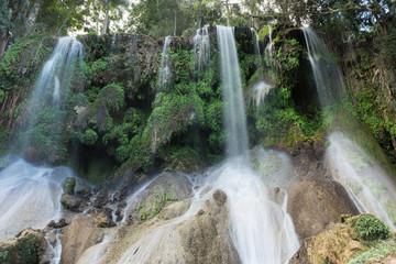 El Nicho Waterfalls in Cuba