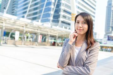 Asian business woman