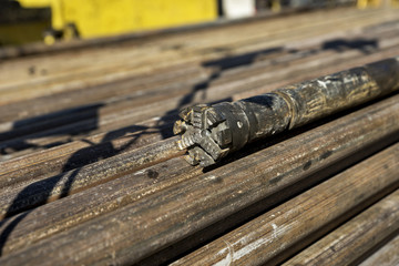 Stell pipe for drilling