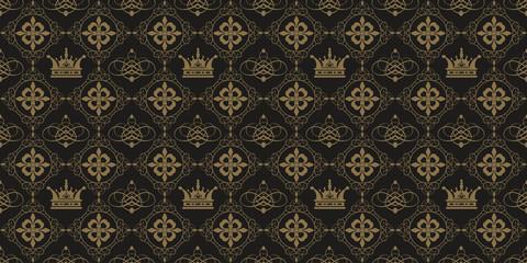 Seamless Pattern Royal, Vector