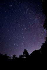 阿智村の星空 縦