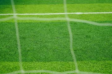 Football stadium sports facilities close-up