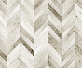 Chevron bleached natural parquet seamless floor texture